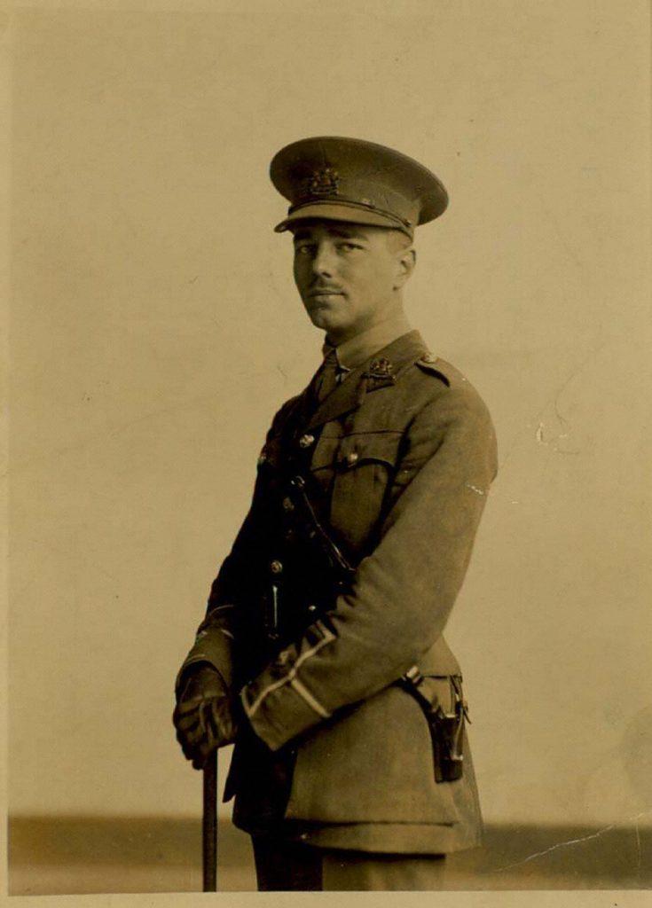 Portrait of Wilfred Owens