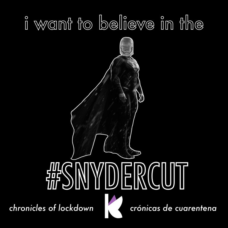 """Superman with a Darkseid head. Original cover for """"Chronicles of Lockdown, Chapter 6: I Want to Believe in the SnyderCut"""