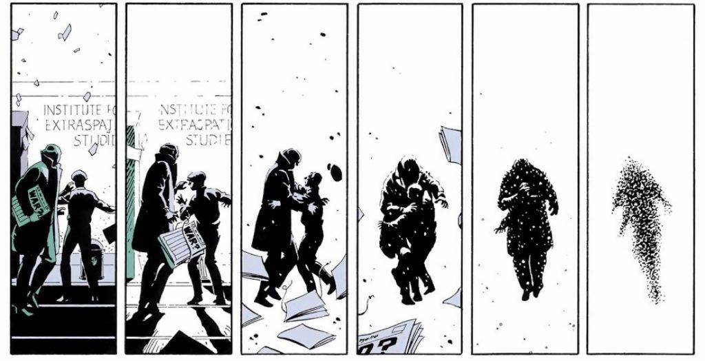 Watchmen, explosion in New York