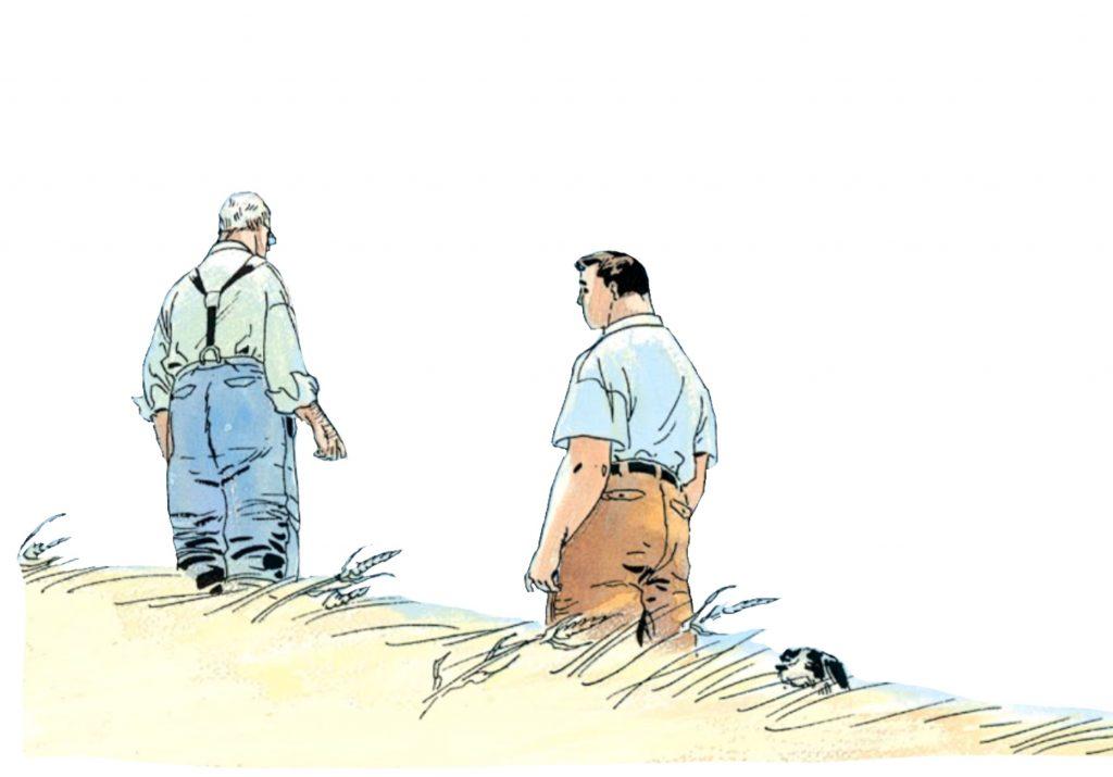 Jonathan Kent and Clark