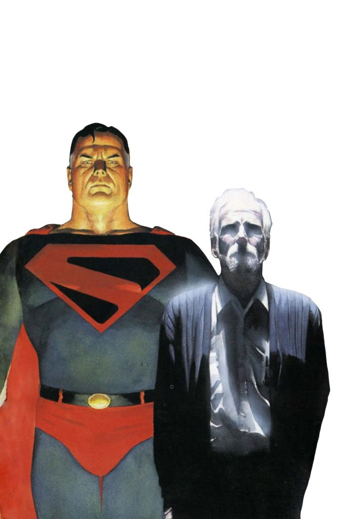 Old Superman from Kingdom Come by Alex Ross