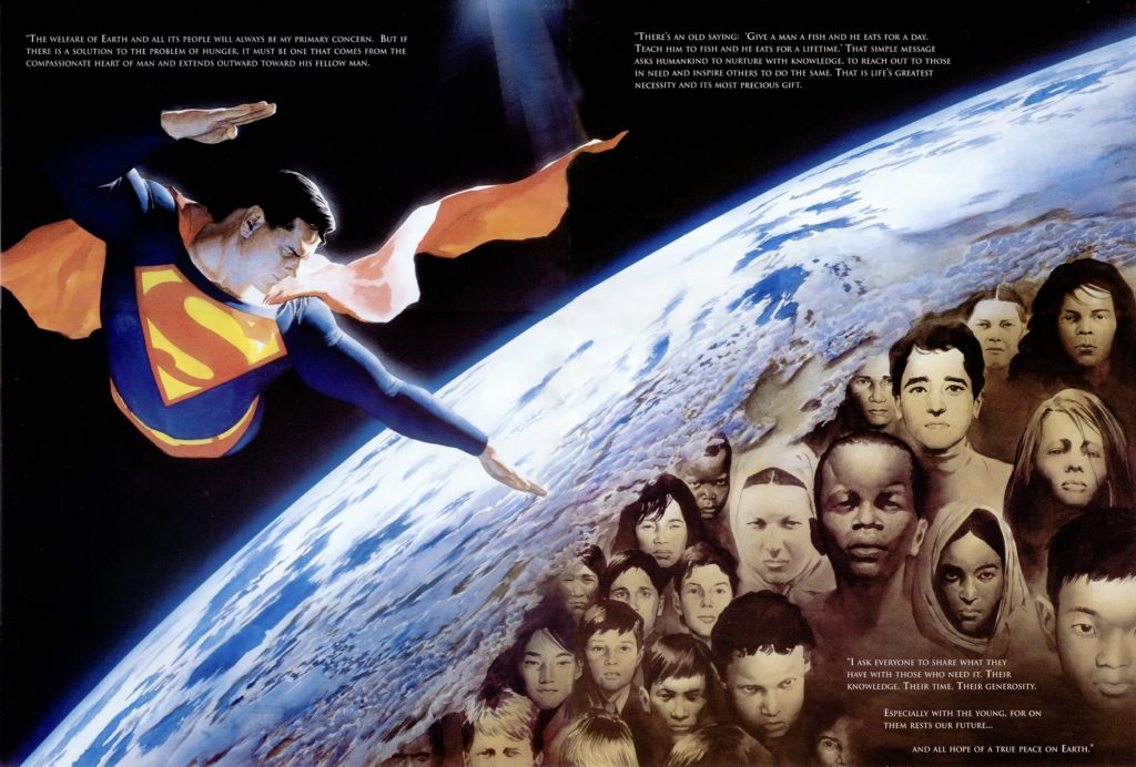 """Superman from """"Peace on Earth"""""""