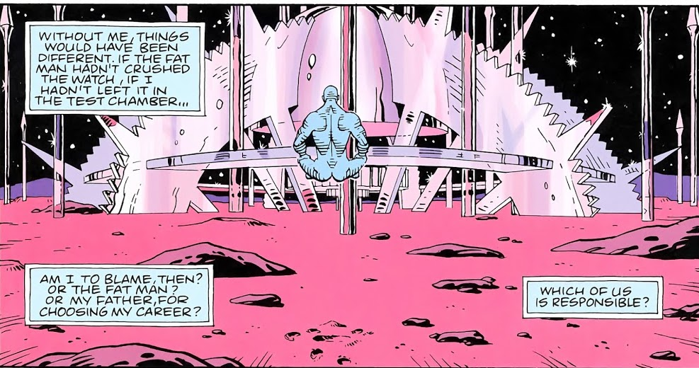 Dr Manhattan creates his world on Mars, The truth in Paradise Lost