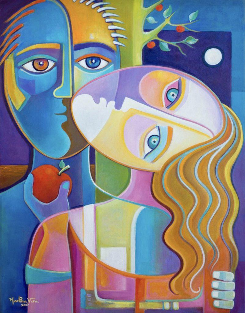 Eve and Adam by Marlina Vera