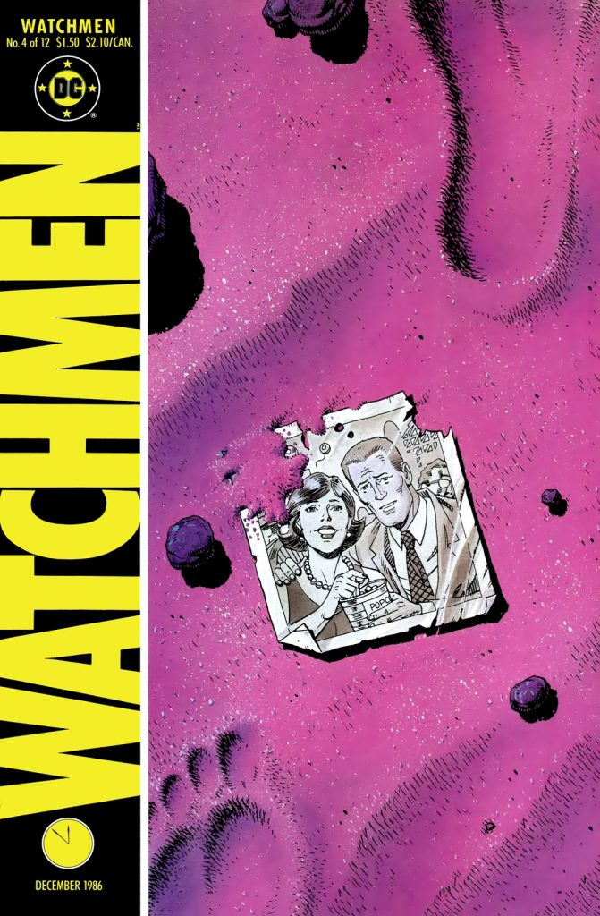 Watchmen Issue 4, The truth about God in Paradise Lost