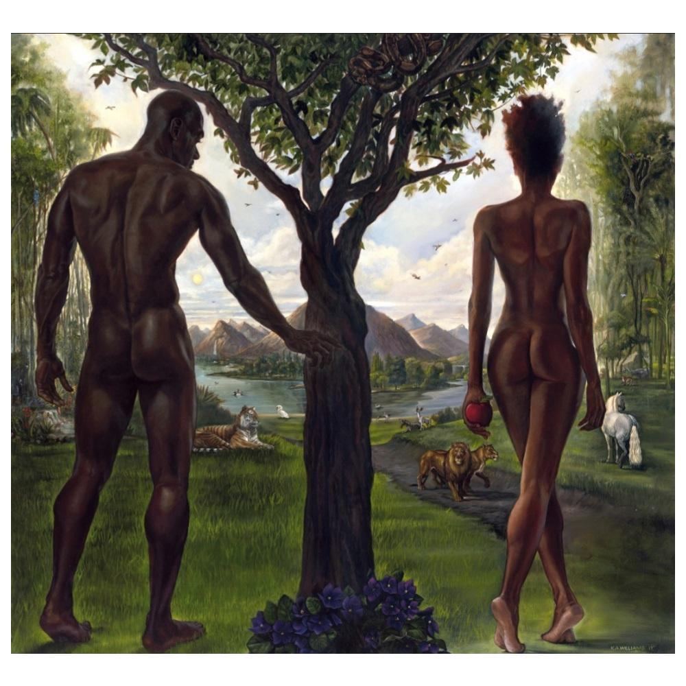 Eve and Adam by Kevin WAK Williams
