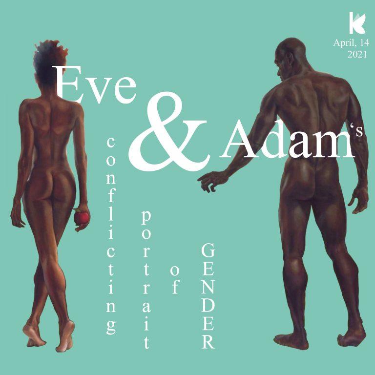 Eve and Adam's conflicting portrait of gender