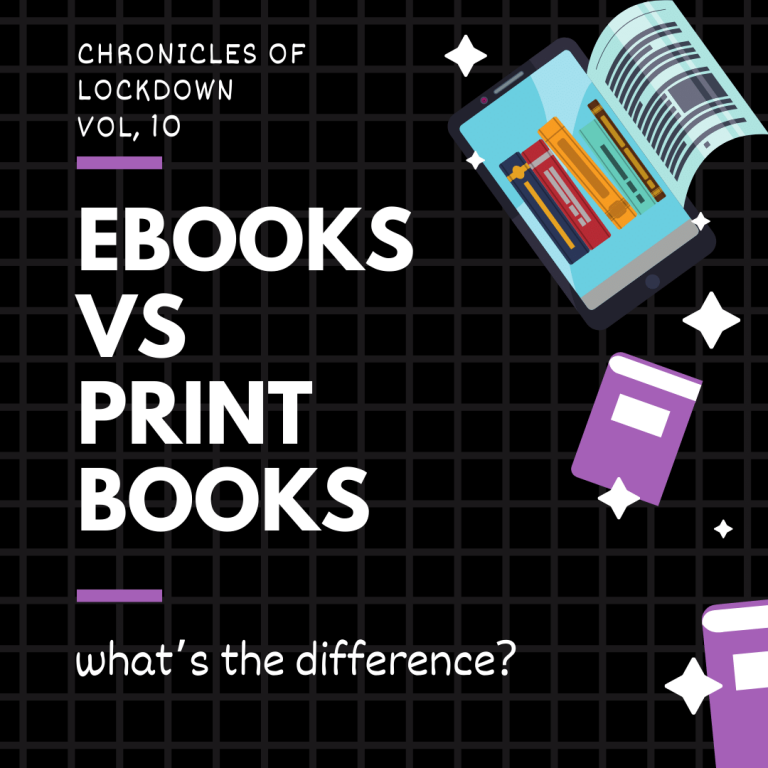 What is the difference between ebooks and print books