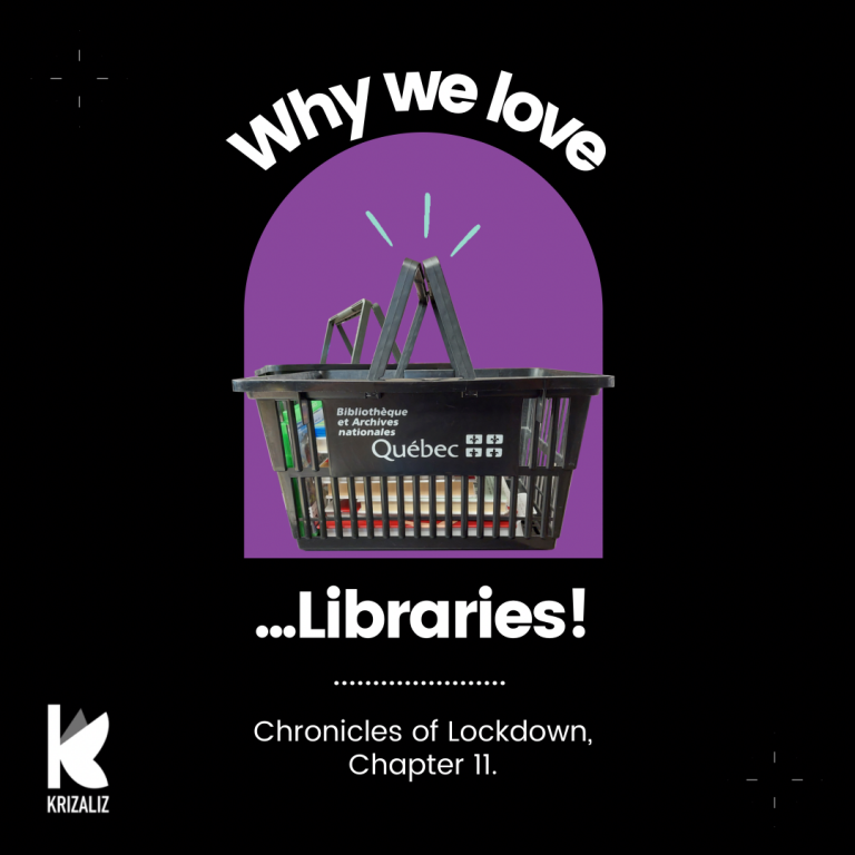 """Chronicles of Lockdown chapter 11 """"Why we love libraries"""""""